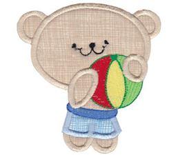 2 Cute Bears Applique 14