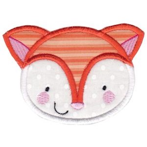 Adorable Animal Faces Applique 6