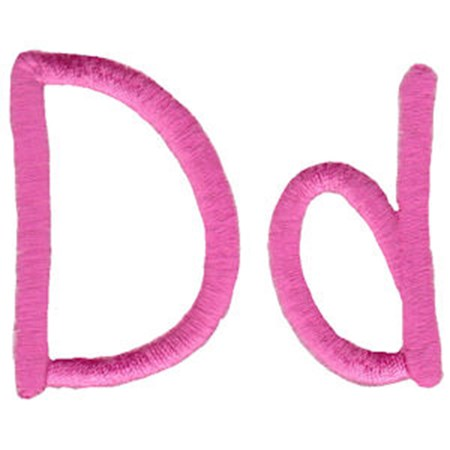 All Things Pink Alphabet D