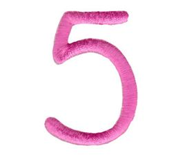 All Things Pink Alphabet Number 5