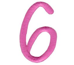All Things Pink Alphabet Number 6