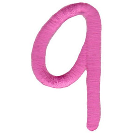 All Things Pink Alphabet Number 9