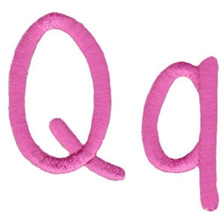 All Things Pink Alphabet Q