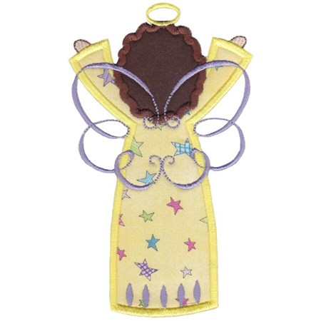 Angels Applique 5x7 6x10 2