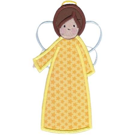 Angels Applique 5x7 6x10 6