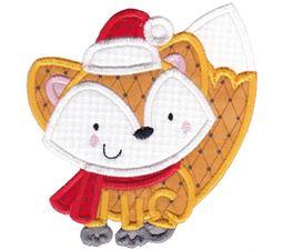 Applique Christmas Animals 10