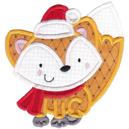 Applique Christmas Animals 10