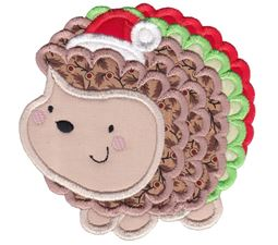 Applique Christmas Animals 11