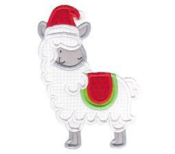 Applique Christmas Animals 2