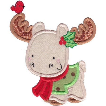 Applique Christmas Animals 5