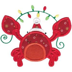 Applique Tropical Christmas Animals 1