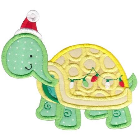 Applique Tropical Christmas Animals 2