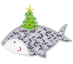Applique Tropical Christmas Animals 4