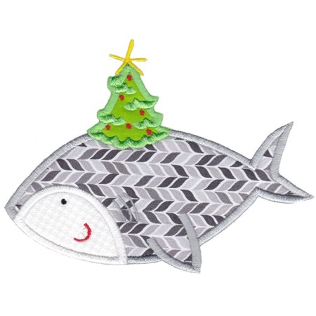 Applique Tropical Christmas Animals 4