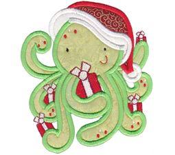 Applique Tropical Christmas Animals 9