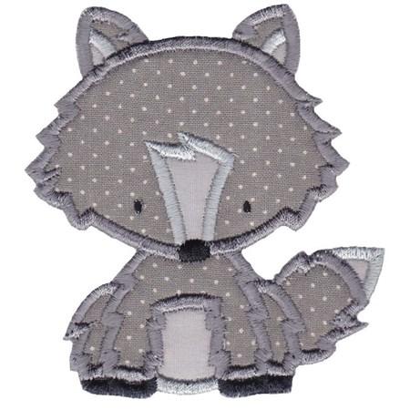 Arctic Fox Applique