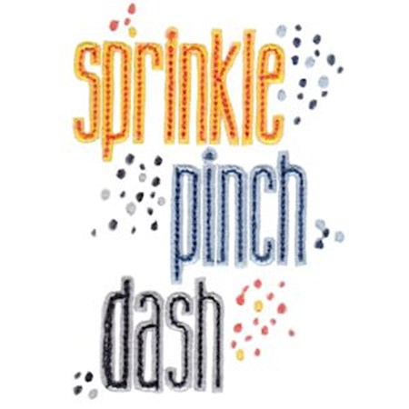 Sprinkle Pinch Dash