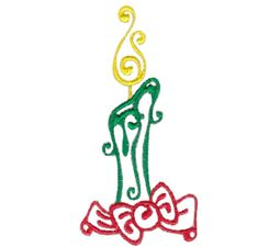 Baroque Swirly Christmas 1