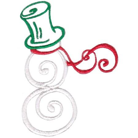 Baroque Swirly Christmas 10