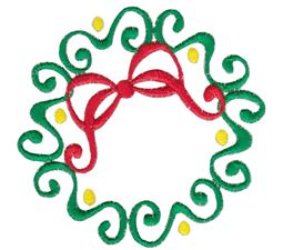 Baroque Swirly Christmas 14
