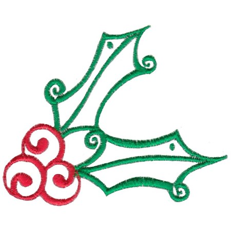 Baroque Swirly Christmas 2