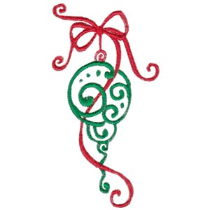 Baroque Swirly Christmas 6