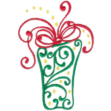 Baroque Swirly Christmas 7
