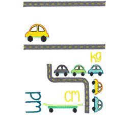 Car Birth Announcement Metric pm