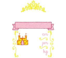 Princess Birth Announcement Metric pm