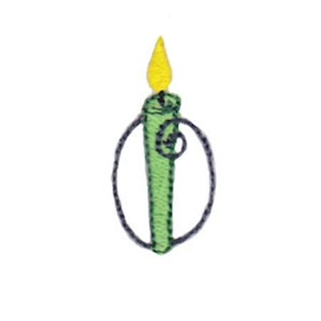 Birthday Candles Alphabet Lower Case o