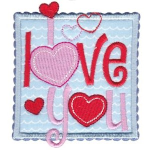 Box Valentine Applique 12