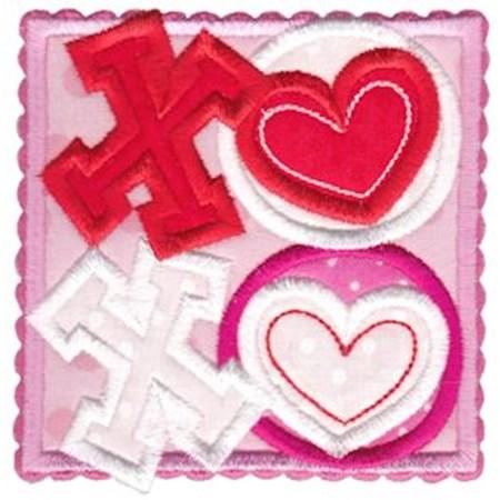 Box Valentine Applique 2