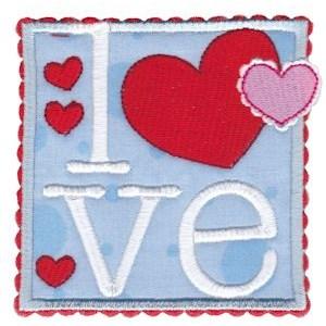 Box Valentine Applique 9