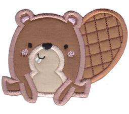 Boxy Beaver Applique