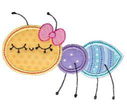 Bug Off Applique 10