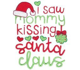 I Saw Mommy Kissing Santa Claus