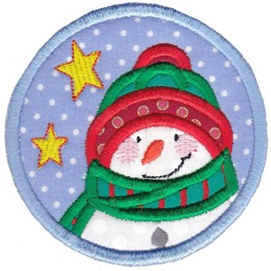 Christmas Coasters Applique 10