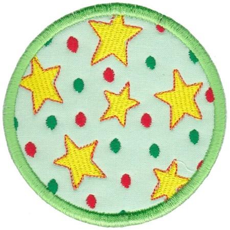 Christmas Coasters Applique 12