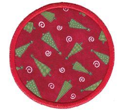 Christmas Coasters Applique 13