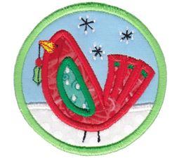 Christmas Coasters Applique 2