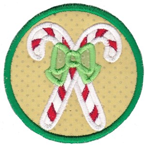 Christmas Coasters Applique 3
