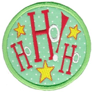 Christmas Coasters Applique 4