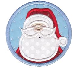 Christmas Coasters Applique 9