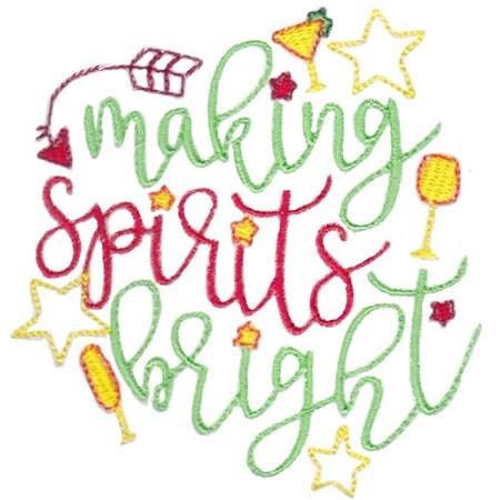 Christmas Spirits Sentiments 4
