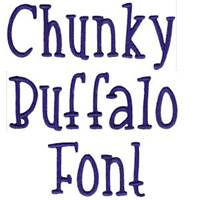 Chunky Buffalo Font