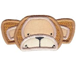 Critter Face Applique 13