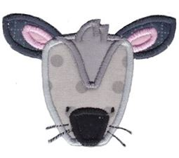 Critter Face Applique 14