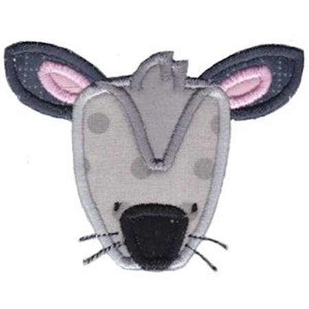 Critter Face Applique 14