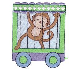 Cute Animal Train 10