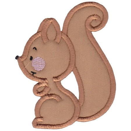 Cute Forest Animals Applique 11